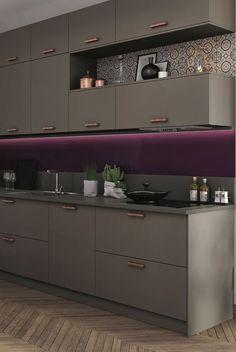 60 stunning contemporary kitchen design ideas you'll love 32 Simple Kitchen Design, Kitchen Room Design, Contemporary Kitchen Design, Kitchen Layout, Home Decor Kitchen, Interior Design Kitchen, Kitchen Modular, Modern Kitchen Cabinets, Kitchen Cupboard Designs