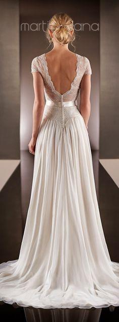 Wedding Dress by Martina Liana Spring 2015 Bridal Collection