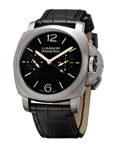 Panerai Luminor 1950 Tourbillon GMT 47mm Titanium Watch PAM00331