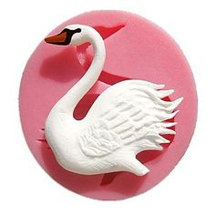The Side Of The Swan Fondant Cake Molds Soap Chocolate Mould For The Kitchen Baking by RUSTIKOcakeDecoratio on Etsy