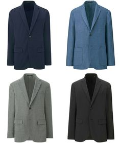 It'S the essence of a sports jacket updated for the modern world. which is what uniqlo does best. Hipster Jeans, Mens Fashion Shoes, Sporty Chic, Sports Jacket, Urban Outfits, Sport Coat, Mens Clothing Styles, Formal Wear, Jeans And Boots
