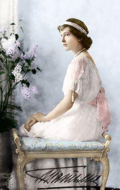Grand duchess Tatiana Nicholaevna. 1914.