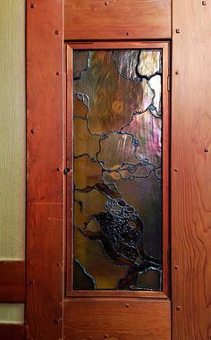 Thorsen House Art Glass and Wood - Greene Greene