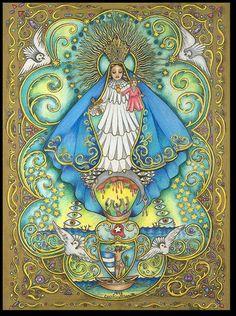 Virgen de la Caridad del Cobre by Cecilio D. Acost