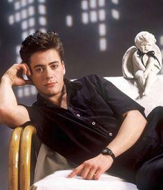 """Robert Downey Jr fue un auténtico bombazo en los años 80 y protagonizó películas como """"Golpe al sueño americano""""."""