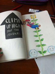 Wreck This Journal - Climb up high drop the journal