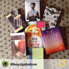 LOOOOOVE!!!! RG @beyogabelove: My 2015 reading list! Ready to be inspired, create, tune into my desires, ask & receive, play, delve even deeper into my Soul and  ! #authorlife #amreading #readinglist #ilovebooks #writerlife #bookinspiration
