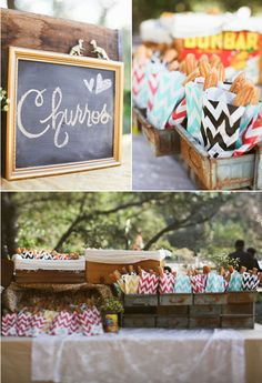 Give fresh churros as wedding favors and your guests will love you forever | Brides.com