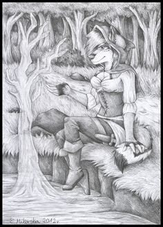 Pencil drawing of Eternal, done back in 2012. Find me on: furaffinity- snowsnow11 deviantart- snowsnow11
