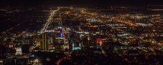 Salt Lake City at night  - #tmophoto landscape and night photography by Thomas OBrien