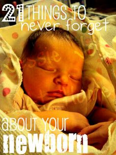 Jessie Jo At Home: 21 Things I Never Want To Forget About Having A Newborn