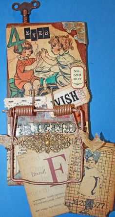 Altered Mousetrap created by @Nancy Wethington