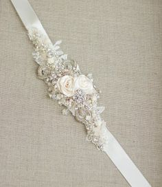 Bridal Sash! Need a little more bling?! This is a great way to keep the dress you love and add to make it your own!! ~ Capture Your Moment ~ Wedding Planning and Family Photographer