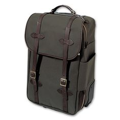 The Wheeled Carry-on Bag - Otter Green $535