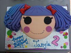 Cake at a Lalaloopsy Party #lalaloopsy #cake