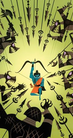 A Graphic Ramayana   Culture Spy   East Bay Express