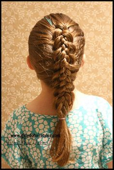 Girly Do Hairstyles: By Jenn: Stacked Braids