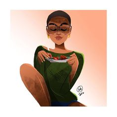 #inspiHER    A R T By: @illustration315 by inspihertv