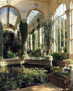 The Orangery at Castle Ashby, England, UK Jardin Decor, Nature Aesthetic, 90s Aesthetic, Aesthetic Plants, Beautiful Architecture, Architecture Design, Aesthetic Pictures, Botanical Gardens, Garden Furniture