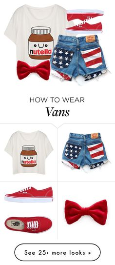 """."" by adorci02 on Polyvore featuring Vans"