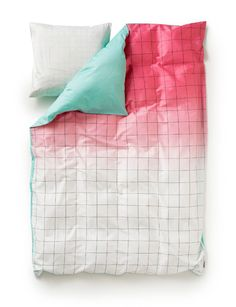 These sheets look like graph paper & have my favorite colors!