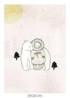 Artprint Emo01 Izumi Emotive serie by IzumiIdoiaZubia on Etsy