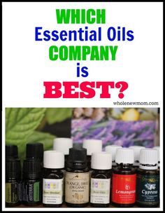 Which Company Has the Best Essential Oils? I was wondering the same thing after I started using essential oils. So many companies say that theirs are the best - but what's the truth? The comments get pretty dicey so hold onto your hat! Essential Oil Companies, Essential Oil Uses, Doterra Essential Oils, Natural Essential Oils, Young Living Essential Oils, Natural Oils, Natural Health, Doterra Oil, Natural Products