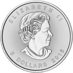 2016 1oz. Canadian Silver Maple Leaf (BU)
