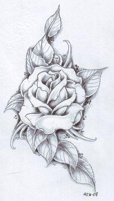 ultimate rose drawing Nice design!!