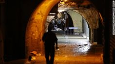 Israeli police say they are restricting access to the Old City of Jerusalem after two Israelis were killed by a Palestinian man on a street in the area.