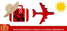 Planificar, realizar y compartir las experiencias de tus vacaciones con Google Herramientas te resultará muy fácil.