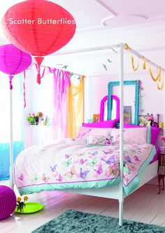 Bright Colored Bedroom colorful bedroom home bright colors neon ...