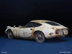 埋め込み画像 Japanese Domestic Market, Jdm, Classic Rice, Toyota 2000gt, Model Cars Building, Abandoned Cars, Love Car, Barn Finds, Diecast Models