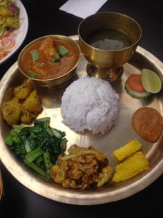 One of the best restaurant I had visited in 2014 was Nepal Restaurant serving Himalayan cuisine. This is their Thakali Thali Set with choices of Chicken, Lamb, Fish and Vegetarian Curry ♥