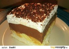 Ledové řezy recept - TopRecepty.cz Tiramisu, Ethnic Recipes, Food, Diet, Essen, Meals, Tiramisu Cake, Yemek, Eten