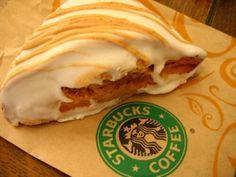 Starbuck's pumpkin scone recipe - definitely worth a try Starbucks Scones, Starbucks Pumpkin, Starbucks Recipes, Starbucks Coffee, Pumpkin Recipes, Fall Recipes, Sweet Recipes, Just Desserts, Delicious Desserts