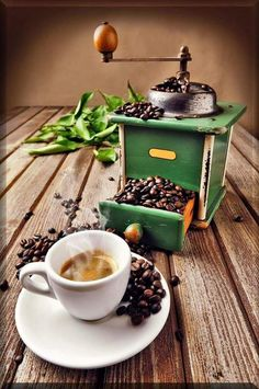 Caffè e macinino