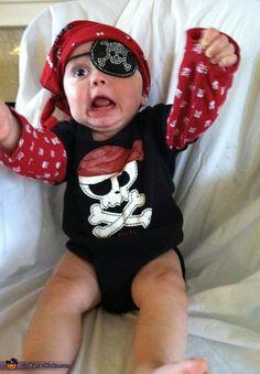 Pirate Baby Costume - Halloween Costume Contest via @costumeworks