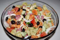 Italian Cheese Tortellini Salad
