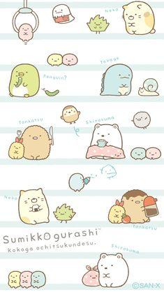 Cute Animal Drawings, Kawaii Drawings, Cute Drawings, Diy Kawaii, Kawaii Art, Sanrio Wallpaper, Kawaii Wallpaper, Kawaii Doodles, Cute Doodles