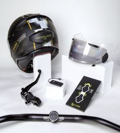 6 new motorcycle tech gadgets are the perfect addition to the modern rider's gear collection Motorcycle Gear, Motorcycle Accessories, Bicycle Helmet, Moto Wear, Radar Detector, Cool Motorcycles, Tech Gadgets, Cool Stuff, Technology