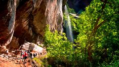 5. Lower Emerald Pool, Zion National Park