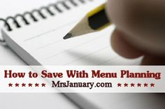 I believe that menu planning is an absolute must if you want to save money on groceries – and it's really not that hard to do, I promise. Let me show you just how easy it is!