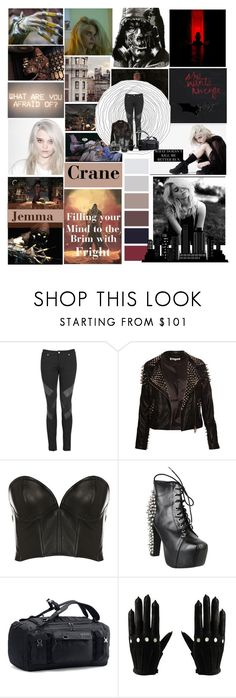 """""""I don't care what you think as long as it's about me ! The best of us can find happiness in misery !"""" by karabear3256 ❤ liked on Polyvore featuring Superfine, Maurie & Eve, Jeffrey Campbell, GAS Jeans, Under Armour and Majesty Black"""
