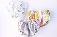 FREE Blousy Bloomers Sewing Pattern with Huggies -