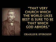 World's church isn't God's church