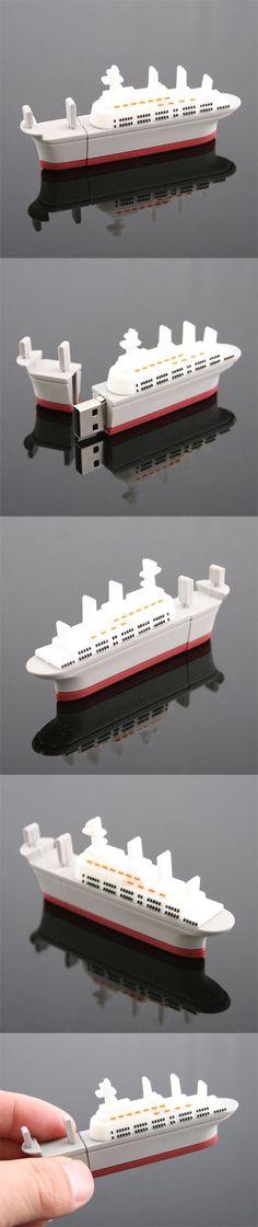 PVC Cruises shape USB Flash Drive http://www.stgift.net/
