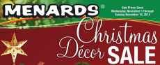 Fond du Lac Deals – Menards Christmas Decor Sale 11/5/14-11/16/14 – Menards is having their Christmas Decor Sale now through November 16th 2014. Free after rebate items: Single Wireless LED Candle $5.99, free after rebate Cord Connect $4.99, free after rebate Check the limits of each item on the flyer and remember, the rebate comes in the form of a merchandise...