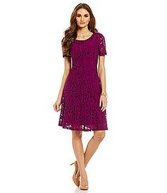 0d2b3b477b8 Alex Marie Berry Blast Harper Lace Dress  Dillards Love this color