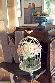Nice idea for decorations. Can get birdcages on ebay v cheap!